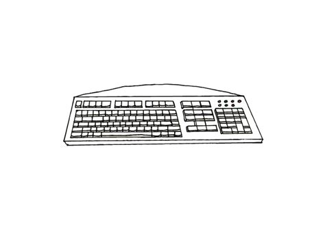 coloring page keyboard coloring page keyboard img 10428