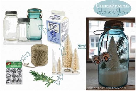 christmas crafts wirh mason jars jars