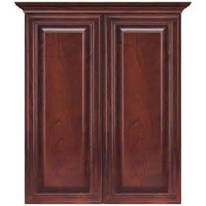 cherry bathroom storage cabinet masterbath raised panel 24 in w bath storage cabinet in