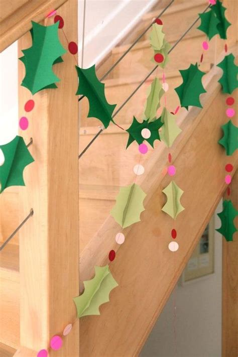 diy decorations construction paper crafts 2014 diy paper garland with polka dots wall decor