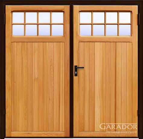 swing doors uk swing doors or side hinged garage doors in mansfield