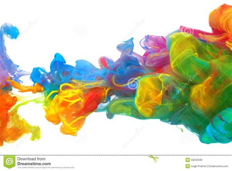 color from image nuages d encre color 233 e lumineuse photo stock image 56250630