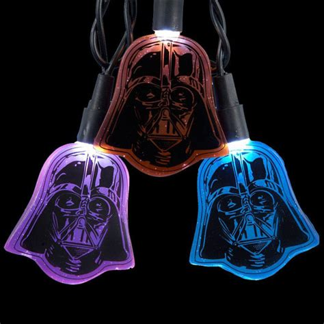 darth vader flat helmet light set