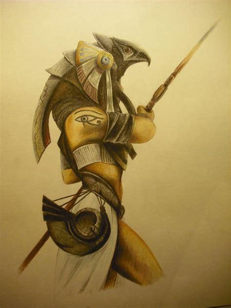 imagenes egipcias horus horus dios egipcio by sorenelrowien on deviantart