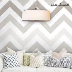 Repositionable Wallpaper Chevron Warm Grey Peel And Stick Fabric Wallpaper 2ft X