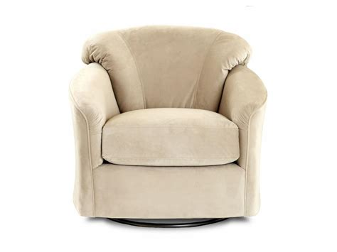 klaussner living room swivel glider chair  swgl