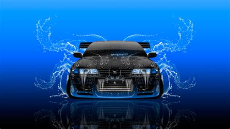 nissan skyline 2015 blue quot nissan skyline gtr r32 jdm front water car 2015