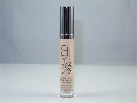 skin weightless complete coverage concealer medium light neutral 2048 urban decay makeup routine