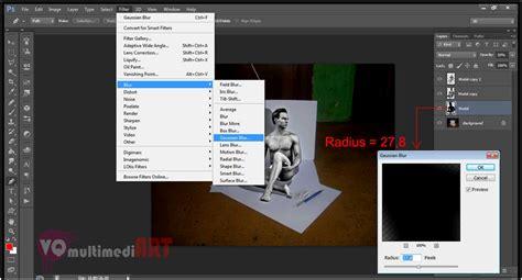 membuat efek robot di photoshop cara membuat efek 3d di photoshop