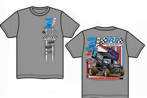 T Shirt Racing 1 1 hrp racing t shirt large hepfner racing products
