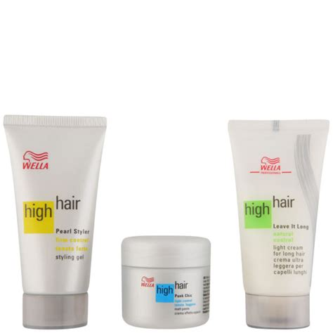 styling gel that doesn t harden wella high hair summer mini gift set 30ml pearl styler