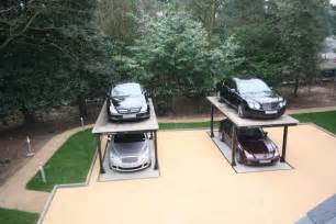 luxurious hydraulic underground garage parking freshome com luxurious hydraulic underground garage parking freshome com