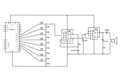 arduino resistor dac arduino audio output