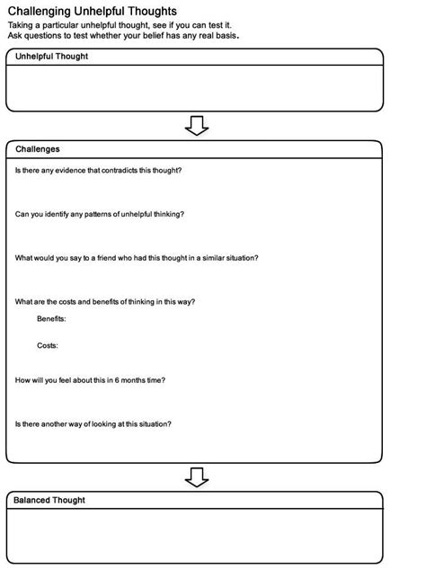 ruminating thoughts worksheet 111 best images about cbt on anxiety depression and self esteem