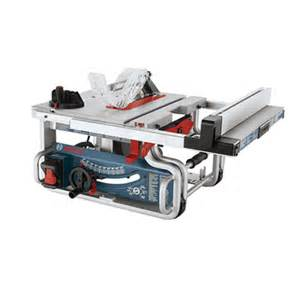 Bosch Portable Table Saw by Gts1031 10 In Portable Jobsite Table Saw Bosch Power