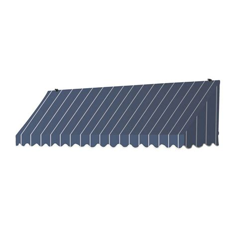 awning retractable manually awnings in a box 8 ft traditional manually retractable