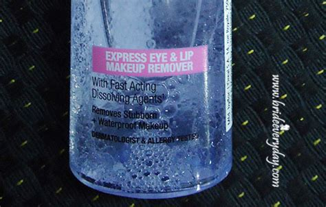 Maybelline Eye And Lip Makeup Remover maybelline clean express total clean eye and lip makeup