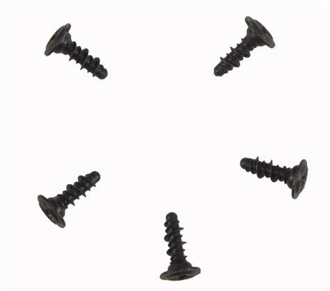 gm philips pan head screws pack   black