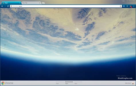 theme google earth space chrome themes