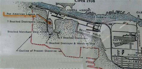 san francisco landfill map excerpt from map of alameda airp
