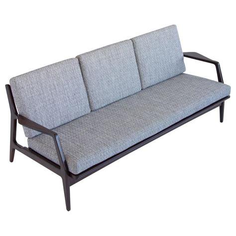 selig sofa danish modern ib kofod larsen sofa for selig at 1stdibs