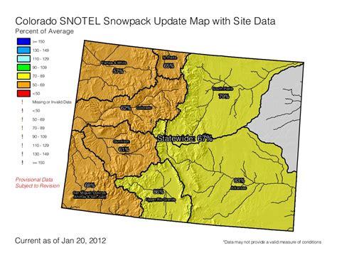 lower colorado river map snowpackcolorado01202012