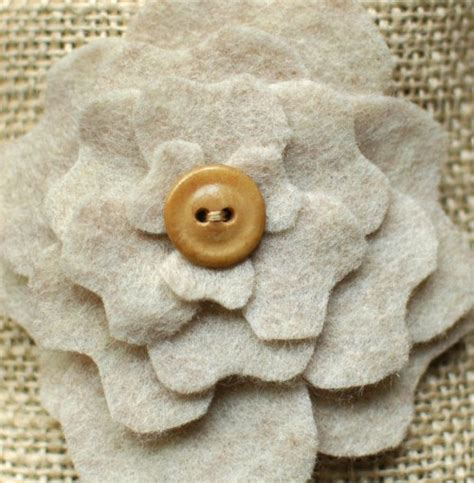 burlap flower template diy favor bags peony pockets part two