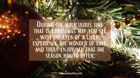 miraculous time   christmas      eyes   child experience