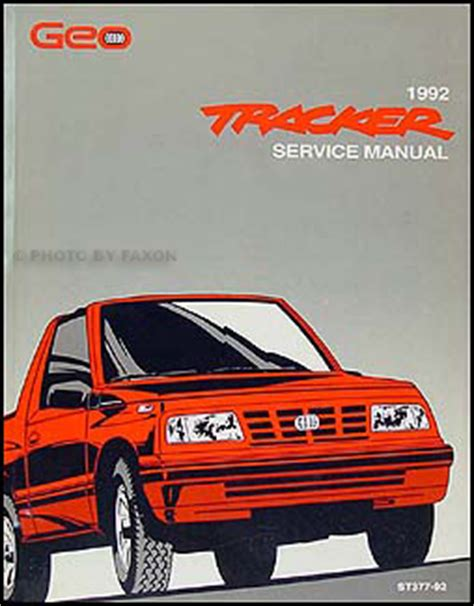 car repair manual download 1992 geo metro free book repair manuals 1992 geo tracker shop manual 92 oem original repair service book lsi chevy ebay
