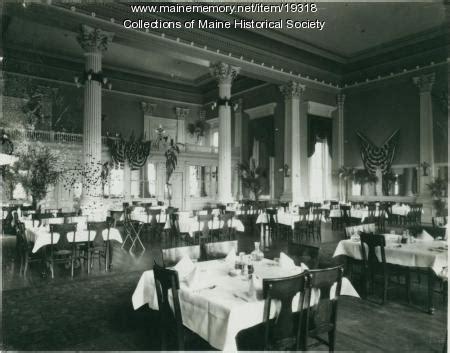 zoom room portland maine memory network dining room falmouth hotel portland ca 1900