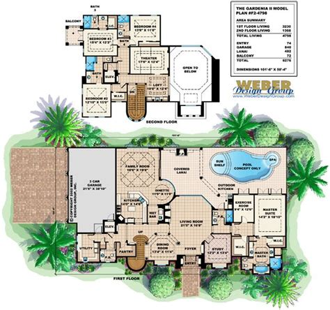 mediterranean house plan artesia house plan weber gardenia ii floor plan by weber design group mediterranean