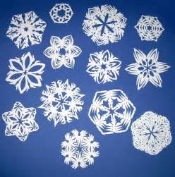 A Snowflake From Paper - paper snowflakes bead happily after