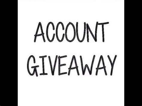 Roblox Giveaway Accounts - roblox account giveaway winner funnycat tv