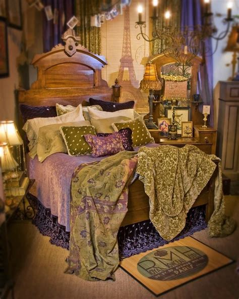 bohemian themed bedroom bohemian bed bedroom pinterest