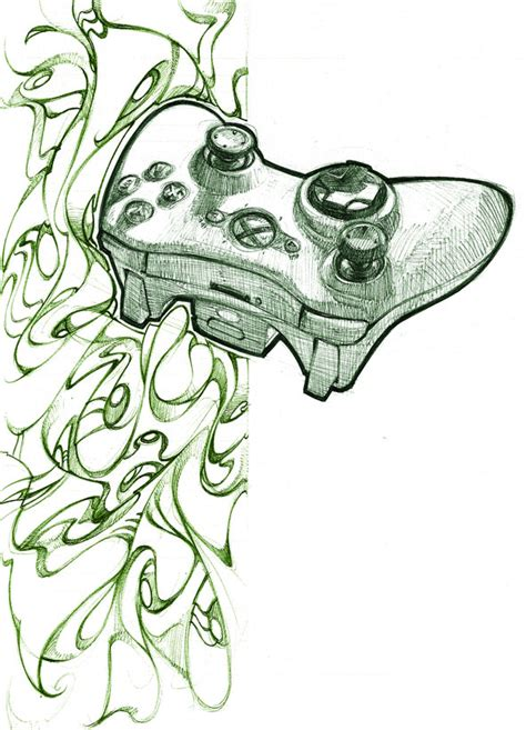 Drawing Xbox by Xbox 360 Controller By Biz20 On Deviantart