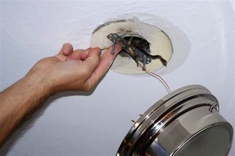 How To Replace Ceiling Light How To Install A Ceiling Light Fixture Bob Vila