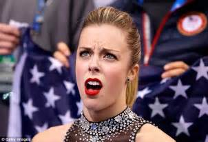 Ashley Wagner Meme - judging in figure skating levelling the rink the economist