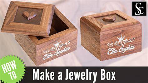 how to make wooden jewelry box how to make a wooden jewelry box