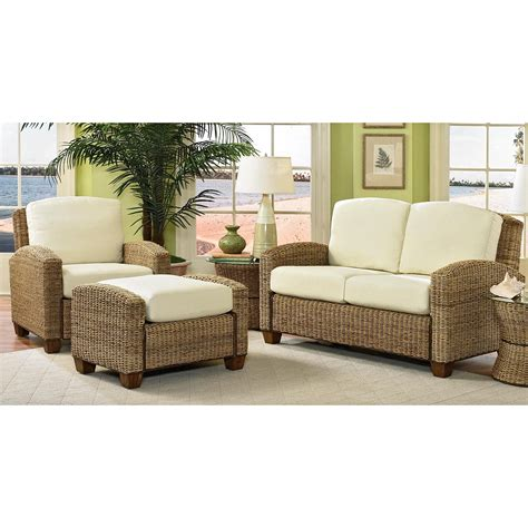 Harbor View Bookcase Indoor Wicker Furniture Clearance Leather Sofa Brown
