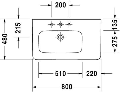 lavelli per cer durastyle lavabo lavabo pour meuble asym 233 trique 232580