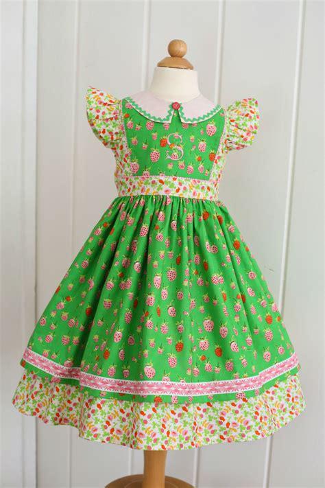 pattern dress girl pdf girls dress pattern georgia vintage dress pattern size