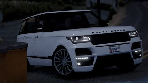 land rover range rover startech add on replace gta5