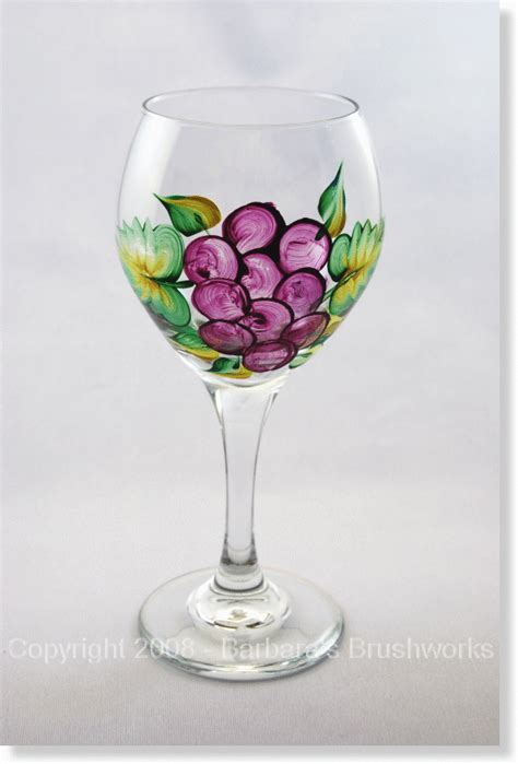 Wine Glass Painting Ideas - wine glass designs on wine glass painted wine