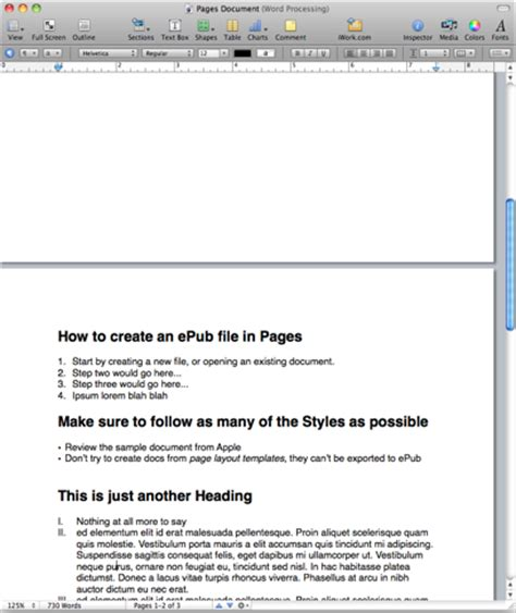 how to format an epub the www blog save apple pages documents in epub files