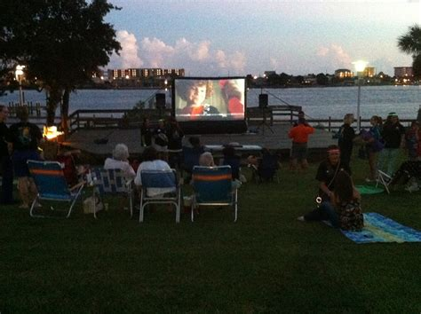 backyard movie screen rentals inflatable movie screens fort walton beach movie screen