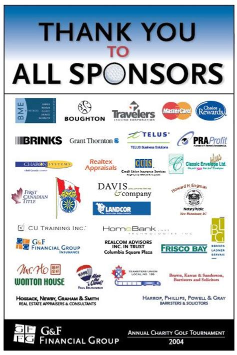 charity event sponsorship 25 best ideas about golf tournament ideas on