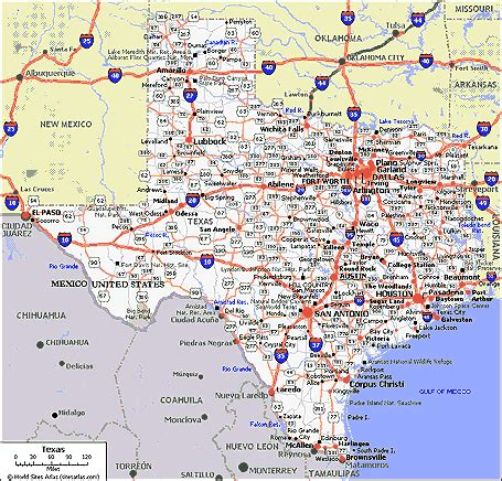 hwy map of texas highway 80 coast to coast highway