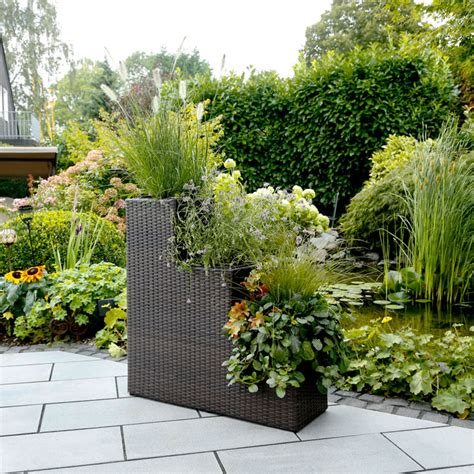 Planter Irrigation System by Rattan Planter 3 Stage With Irrigation System Garden