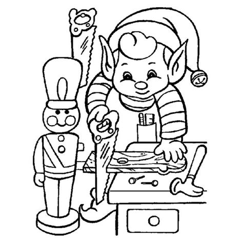 coloring pictures of santa and his elves elves coloring pages santa and his elves coloring pages