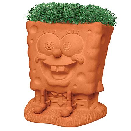 Chia Planter by Chia Pet Sponge Bob Handmade Decorative Planter Walgreens